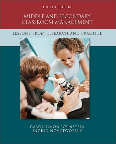 Middle and secondary classroom management : lesson from reseach and practice