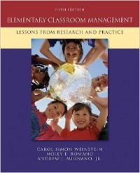 Image of Elementary classroom management : lessons from reseach and practice