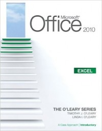 Image of Microsoft office 2010 : excel = a case approach introductory