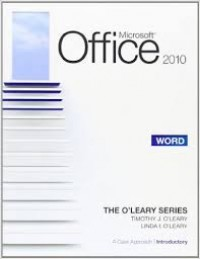 Image of Microsoft office 2010 : acces = a case aprroach complete